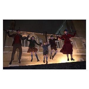 Неформатный постер Mary Poppins. Размер: 50 х 30 см